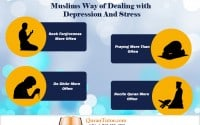 relief from both stress and depression by using Islamic Ways