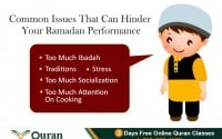 Praying too much in Ramadan will effect your other responsibilities