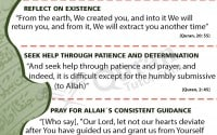 Golden Words from teachings of Quran