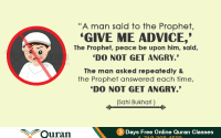 islamic view about anger
