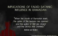 satanic influence in ramadan